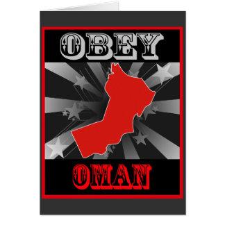 Obey Oman Card