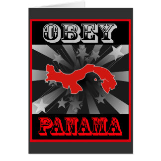 Obey Panama Card