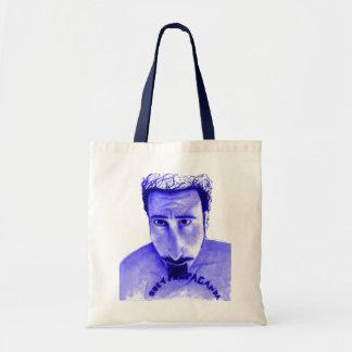 Obey Propaganda blue Tote Bag