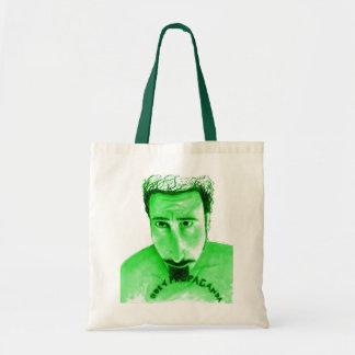Obey Propaganda green Tote Bag