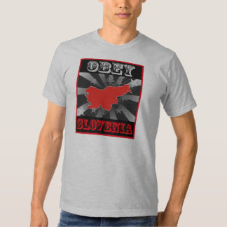 Obey Slovenia Shirt