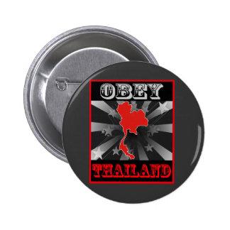 Obey Thailand Pins