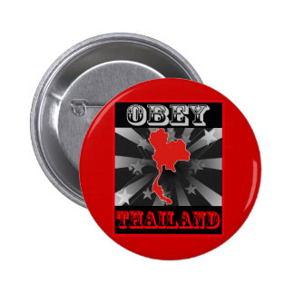 Obey Thailand Pinback Buttons