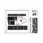Obey The American Eskimo Dog Postage