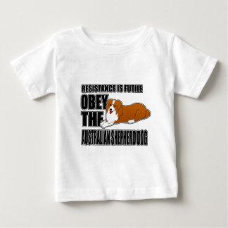 Obey The Australian Shepherd Infant T-shirt