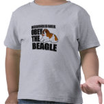 Obey The Beagle T Shirts
