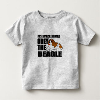 Obey The Beagle Toddler T-shirt