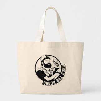 Obey the Beard Tote Bags