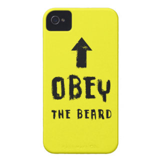 Obey the beard! Case-Mate iPhone 4 cases