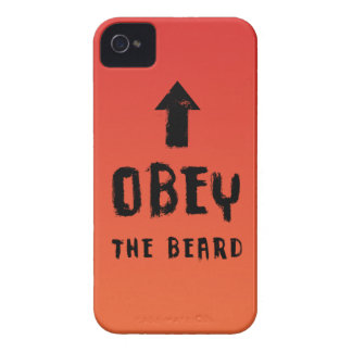 Obey the beard! iPhone 4 case