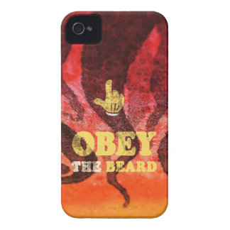 Obey the beard! iPhone 4 Case-Mate case