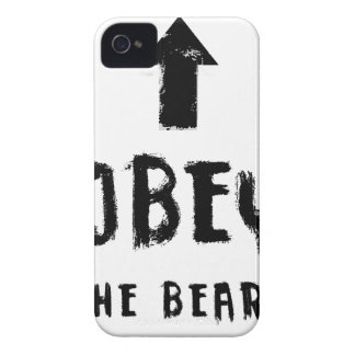 Obey the beard! iPhone 4 Case-Mate cases
