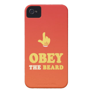 Obey the beard! iPhone 4 cases