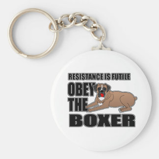Obey The Boxer Keychain