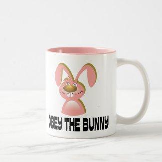 Obey the Bunny Mug