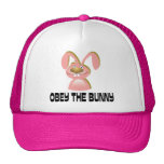 Obey the Bunny Trucker Hat