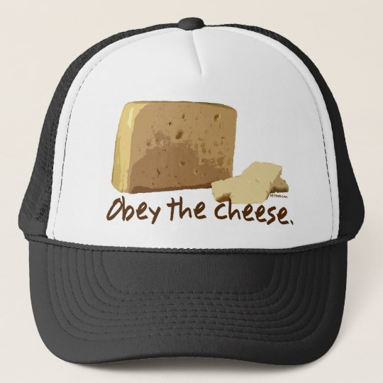 Obey the Cheese Trucker Hat