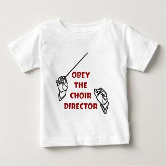 Obey the Choir Director T Shirt