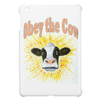 Obey the Cow iPad Mini Cover
