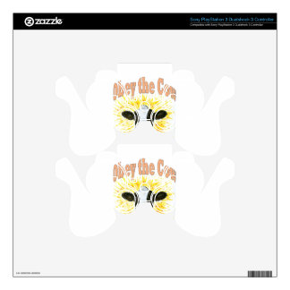 Obey the Cow PS3 Controller Skin