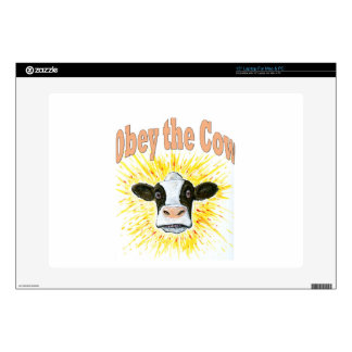 """Obey the Cow Skins For 15"""" Laptops"""