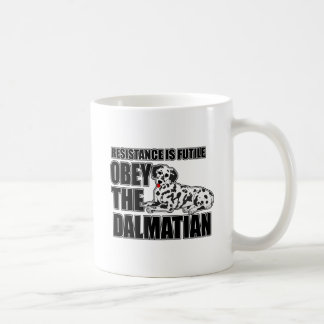 Obey The Dalmatian Coffee Mug