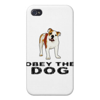 Obey the Dog Case For iPhone 4
