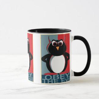 Obey the Evil Penguin Mug