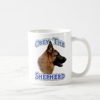 Obey the German Shepherd Coffee Mug