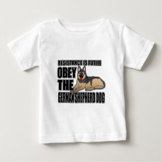 Obey The German Shepherd Dog Tee Shirt