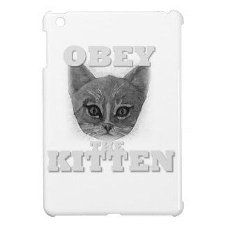 Obey the Kitten iPad Mini Cover