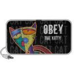 Obey The Kitty Doodle Notebook Speaker