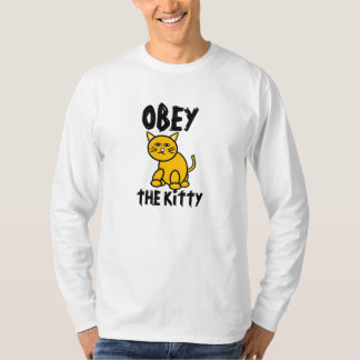 Obey the Kitty Mens T-shirt