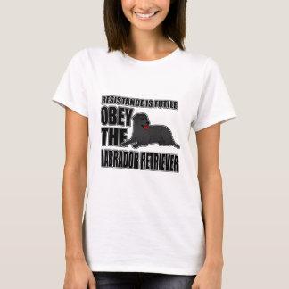 Obey The Labrador Retriever T-Shirt