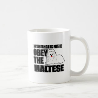 Obey The Maltese Coffee Mug