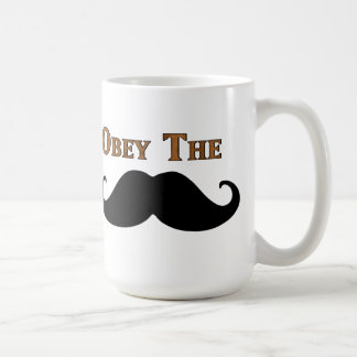 Obey The Mustache Mugs