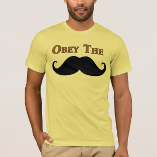 Obey The Mustache T-Shirt