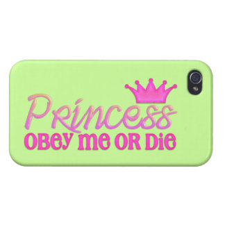 Obey the Princess iPhone 4 Covers