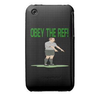 Obey The Ref iPhone 3 Case