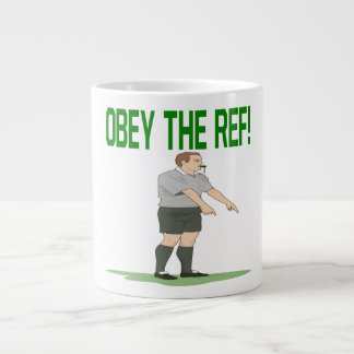 Obey The Ref Large Coffee Mug