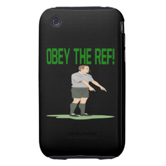 Obey The Ref Tough iPhone 3 Cases