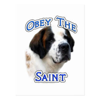 Obey the Saint Post Card