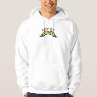 Obey the Stache hoodie / hooded sweatshirt