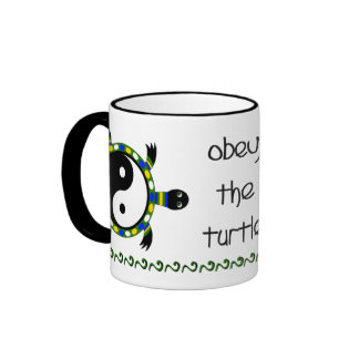 OBEY THE TURTLE MUGS