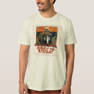Obey the USSA the Scream Shirt
