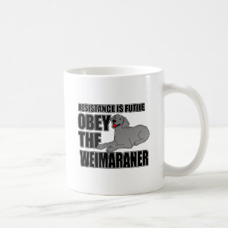 Obey The Weimaraner Coffee Mug
