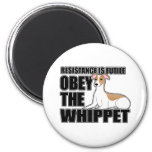 Obey The Whippet Magnet
