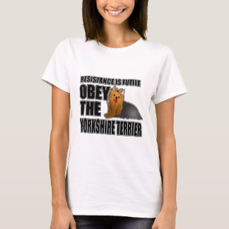 Obey The Yorkshire Terrier T-Shirt