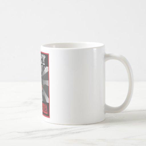 Obey Tunisia Classic White Coffee Mug