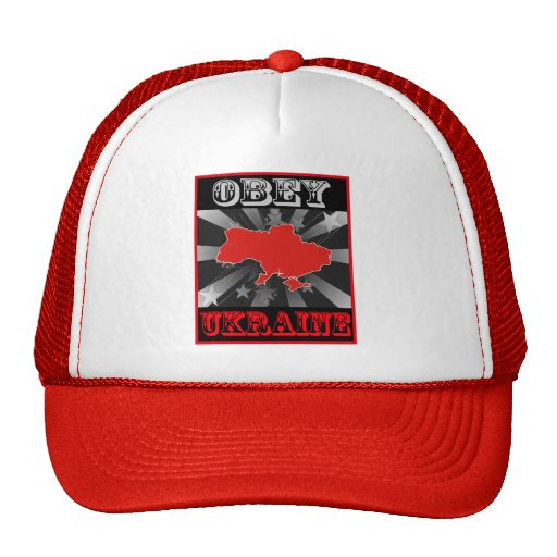 Obey Ukraine Trucker Hat